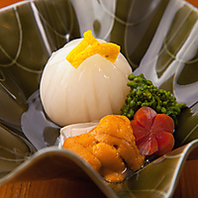 京野菜を使用した創作料理