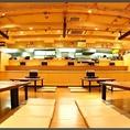 【貸切はご予算に応じて80名様~OK!】新潟の美味しいものを食べれて大人数が入れるお店は多くは無い。貸切のご利用はご予算に応じて80名様~最大110名様迄OK!
