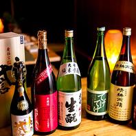 九州の人気銘柄焼酎や日本酒が目白押し!料理との相性◎