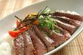 料理メニュー写真母家のステーキ丼
