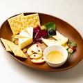 料理メニュー写真チーズ盛り合わせ