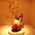 日本人ですから!粋なお花もございます。