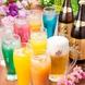 コースの飲み放題は生ビール・果実酒種等豊富に200種類