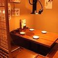 2名様~8名様までご利用可能な個室をご用意しております!プライベートなシーンに最適な席となっておりますので、少人数での宴会でもご利用いただけます!厚岸産地直送の牡蠣やもつ鍋、アツアツ餃子など様々なお料理をご用意してスタッフ一同お待ちしております!是非ご利用くださいませ。