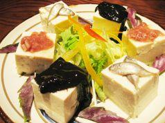 三珍盛・島豆腐のせ