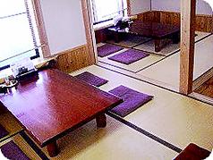 和空間漂うお座敷もゆっくりごくつろぎ頂けます。