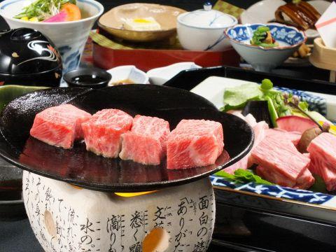 【個室確約】【京都牛ステーキ懐石10000円】京懐石とA4ランク黒毛和牛ステーキの欲張り10品