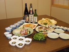 蕎麦 香寿庵のコース写真