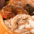 兵庫県各地から毎日仕入れる新鮮な食材