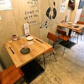 2名掛けのテーブル席が2卓ございます!