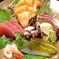 料理メニュー写真地魚刺身盛り