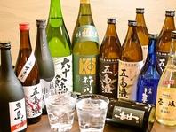 五島のお酒を中心に県産酒をご用意しております♪