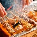 料理メニュー写真あねっこ鶏串5本盛り合わせ