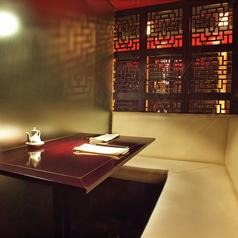 【デートにぴったり】2名様用のプライベート個室のご用意もあります。