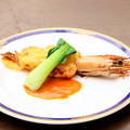 料理メニュー写真有頭海老のグラタン