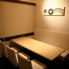 最大12名様までOKの個室は会社宴会にもぴったりです☆6名用個室席が2部屋あり