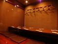 【1階】8名様、10名様など人数に合わせた個室をご用意。最大50名様まで収容可能。