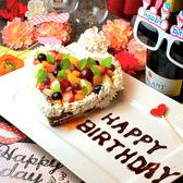 誕生日にはこんなかわいいケーキをご用意します♪