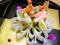 料理メニュー写真造里菊花盛り
