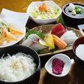 料理メニュー写真【定食】刺身定食 (天ぷら付)