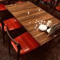 2~4名様にオススメのテーブル席♪