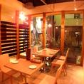 1階テーブル席(4~10名様)
