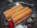 甘いモノは別腹♪チョコケーキ 320円