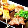 料理メニュー写真牛串(2本)