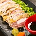 料理メニュー写真黒さつま 地鶏たたき