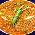 料理メニュー写真キーマとエッグのカレー Keema & Egg curry