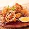 鶏の唐揚げ (おろしポン酢・梅肉葱ソース)
