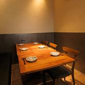 【個室6名様×1】個室では周りを気にせず、プライベートな空間でゆっくりとお過ごしいただけます。