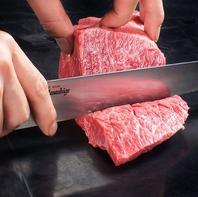 味・品質・鮮度へのこだわり…肉は店で丁寧に手でカット