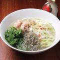 料理メニュー写真R20雨後の月を使用広島の地酒ラーメン