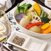 新鮮な野菜を使ったお料理も多数ご提供!