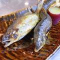 料理メニュー写真鮎塩焼き