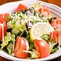 料理メニュー写真トマトのペペロンチーノサラダ