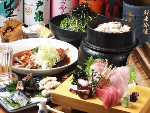 銚子漁港から直送の鮮魚がウマイ!!ココロあたたまる店内で、ごゆっくりどうぞ♪
