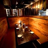 様々なシチュエーションに対応可能な雰囲気自慢の個室空間♪女子会や誕生日会・歓送迎会など各種宴会に最適の個室空間となっております♪ゆったりとリラックスできる空間を提供いたします。