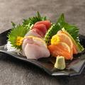 料理メニュー写真鮮魚三点盛り