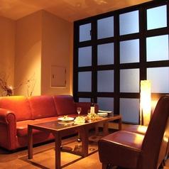 ゆったりソファ♪4階フロアは個室フロア♪女子会、デート、お食事に♪