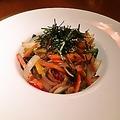 料理メニュー写真彩野菜のチャプチェ