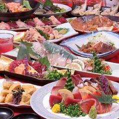 割烹 活き鮮魚 うみまる 博多筑紫口店のコース写真