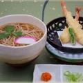 料理メニュー写真海老天ぷらそば