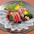 料理メニュー写真本日の刺身 三種盛り