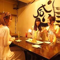 【1階】女子会や誕生日会にもぴったりなお席をご用意♪