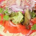 料理メニュー写真宮城産銀鮭の旬菜カルパッチョ