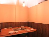 2Fには半個室もあり。