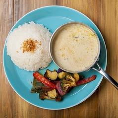 料理メニュー写真鶏肉と野菜のグリーンカレー