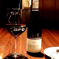 ソムリエが選んだ料理に寄り添う最高のワインも…